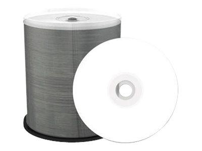 MEDIARANGE Inkjet Fullsurface-Printable - 100 x DVD-R