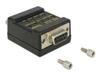 Delock RS-232 Tester DB9 female > DB9 male