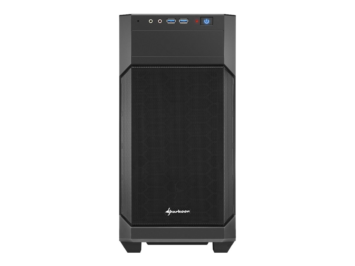 Sharkoon V1000 - Tower - micro ATX - ohne Netzteil