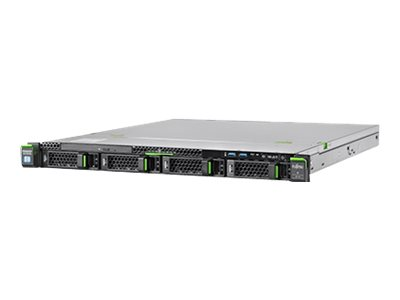 Fujitsu PRIMERGY RX1330 M4 - Server - Rack-Montage - 1U - 1-Weg - 1 x Xeon E-2136 / 3.3 GHz - RAM 16 GB - SATA - Hot-Swa