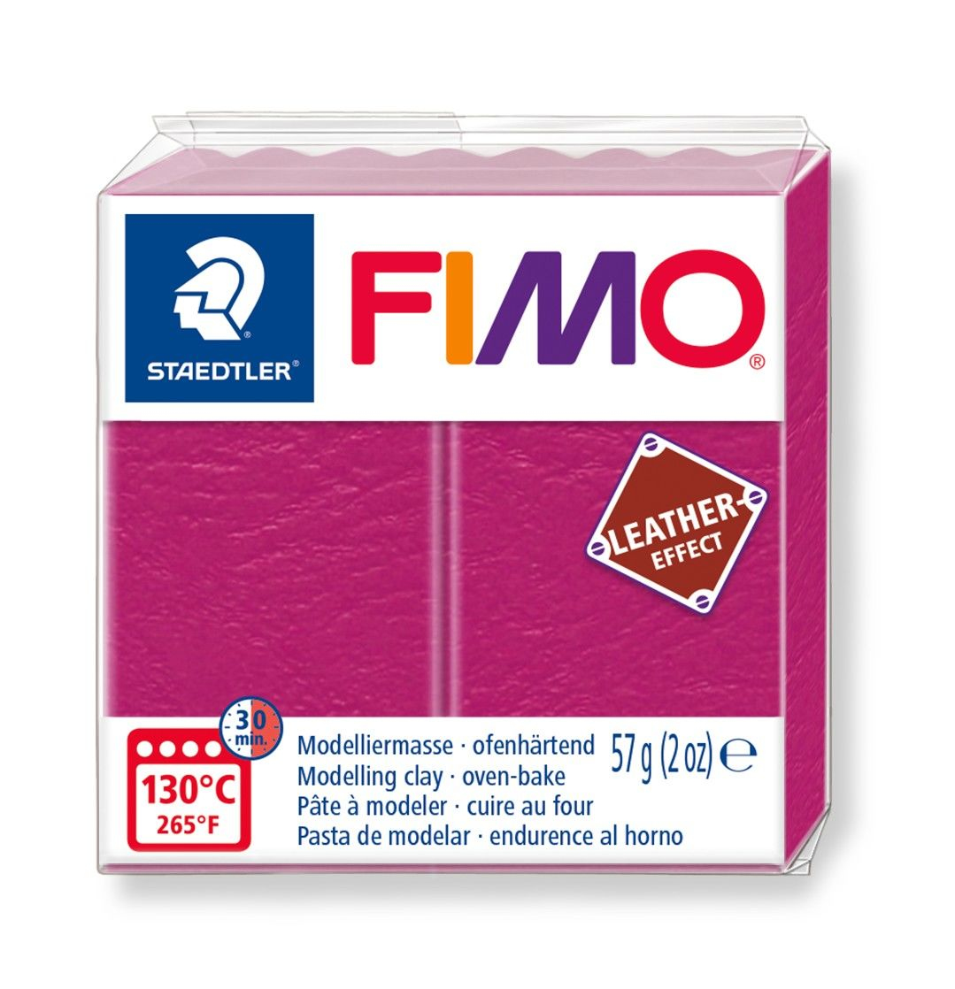 Vorschau: STAEDTLER FIMO 8010 - Knetmasse - Beere - Erwachsene - 1 Stück(e) - 1 Farben - 130 °C