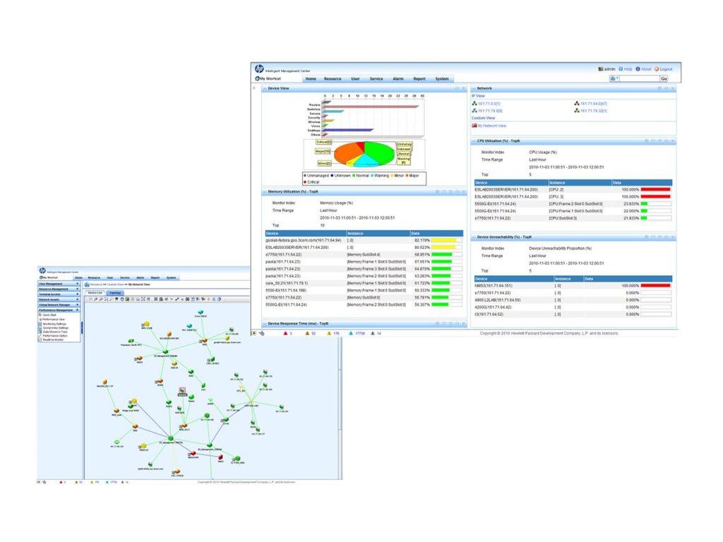 HP IMC Basic SW Platform w/50-node E-LTU (JG546AAE)