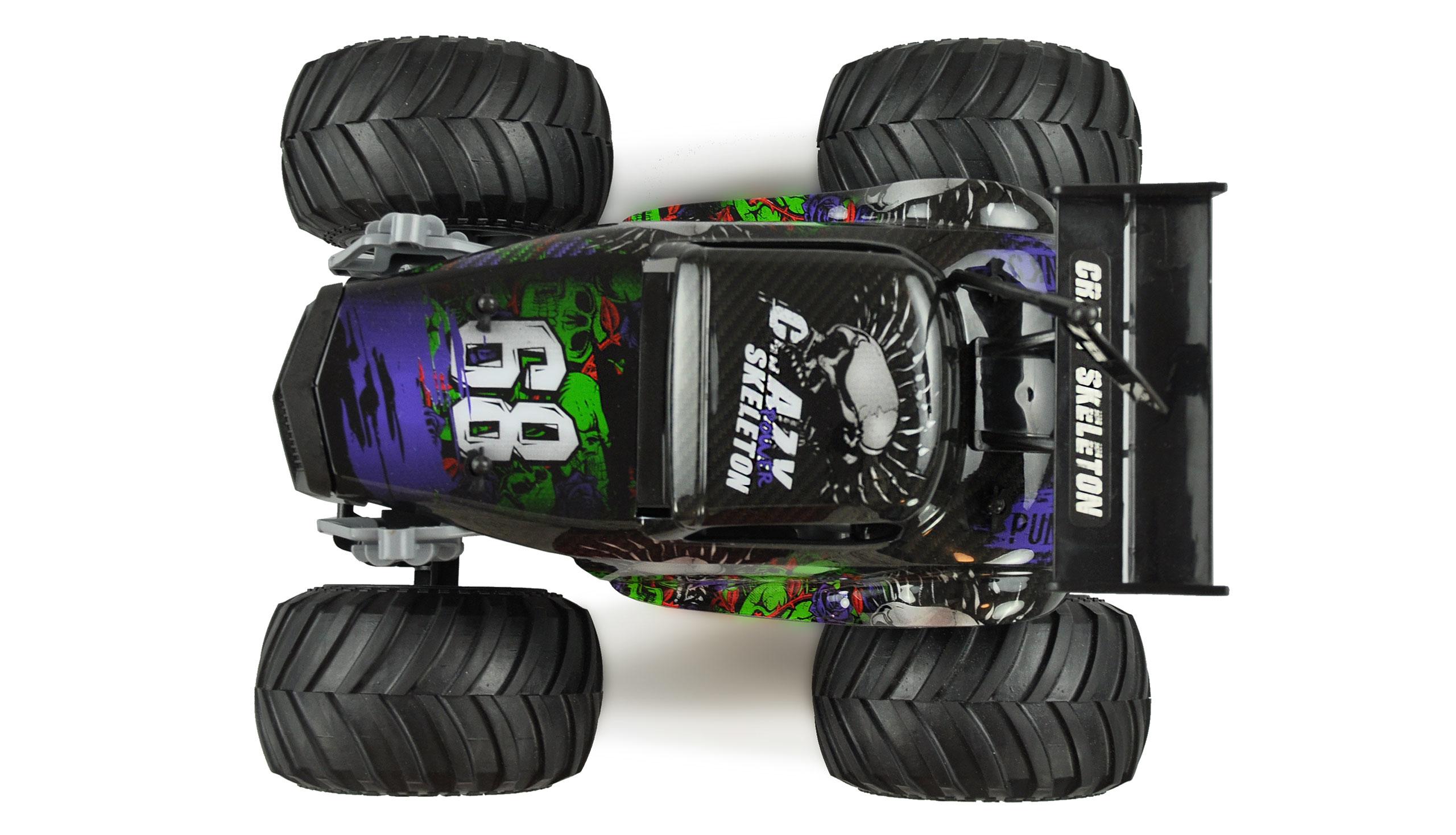 Amewi Crazy Hot Rod - Monstertruck - 1:16 - Junge - 6 Jahr(e) - 700 mAh - 1 kg