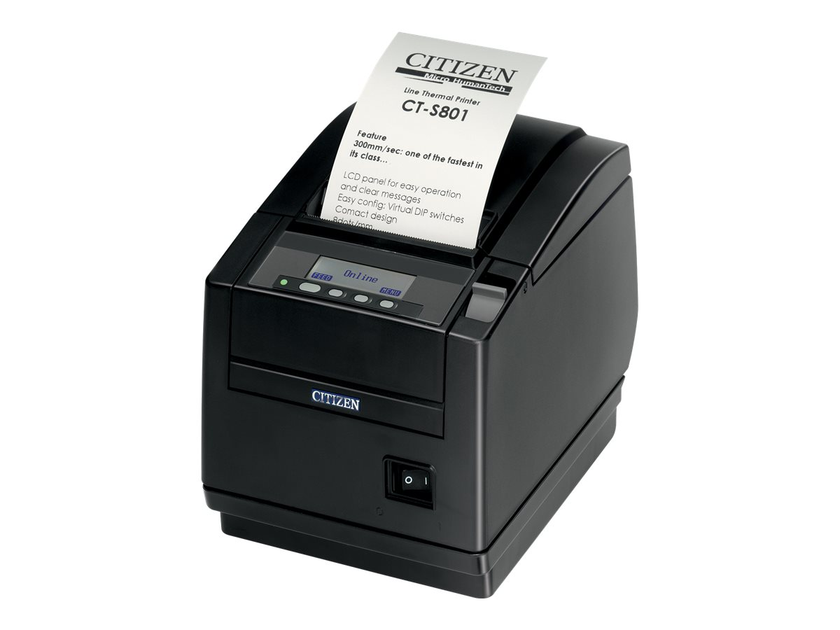 Citizen CT-S801II - Belegdrucker - Thermopapier - Rolle (8,25 cm)