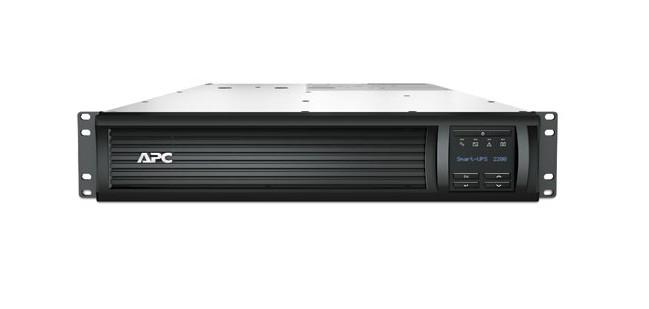 APC Smart-UPS 2200VA Line-Interaktiv 2200VA 9AC-Ausgänge Rackmount Schwarz Unterbrechungsfreie Stromversorgung (UPS)
