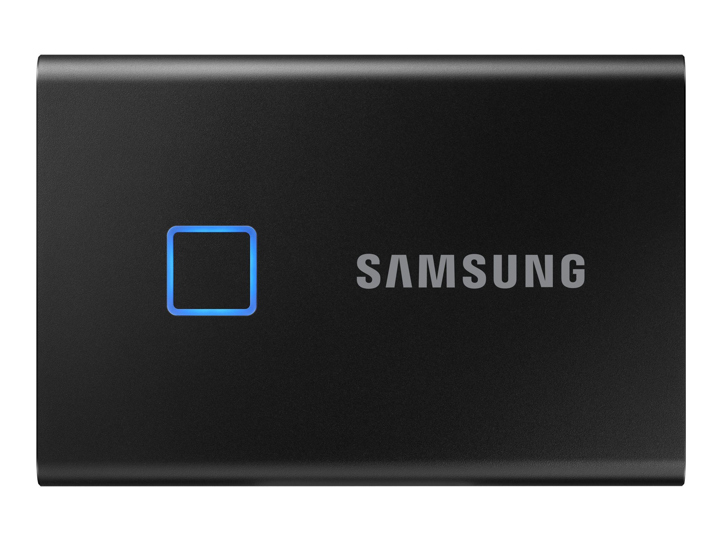Samsung T7 Touch MU-PC2T0K - 2 TB SSD - extern (tragbar)