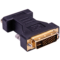 ROLINE Display-Adapter - HD-15 (W) bis DVI-A (M)