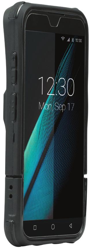 """Mobilis Protech Pack Cover Bluebird VF550 13.8 cm (5.45"""") Black"""