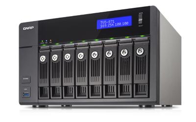 QNAP TVS-871 - NAS-Server - 8 Schächte