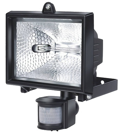 Vorschau: Brennenstuhl H 500 IP44 - Wandbeleuchtung für den Außenbereich - Schwarz - Aluminium - IP44 - Eingang - Garten - Bewegungssensor