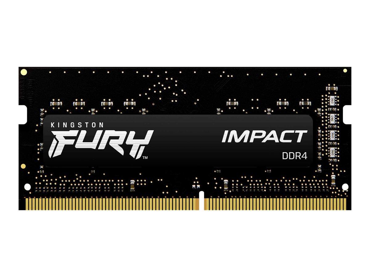 Kingston FURY Impact - DDR4 - Kit - 32 GB: 2 x 16 GB