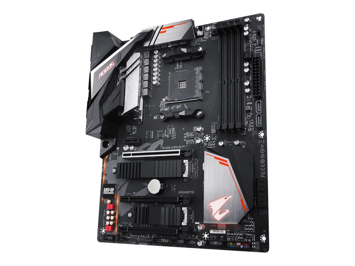 Gigabyte B450 AORUS PRO - 1.0 - Motherboard - ATX - Socket AM4 - AMD B450 - USB 3.1 Gen 1, USB-C Gen2, USB 3.1 Gen 2 - Gigabit LAN - Onboard-Grafik (CPU erforderlich)