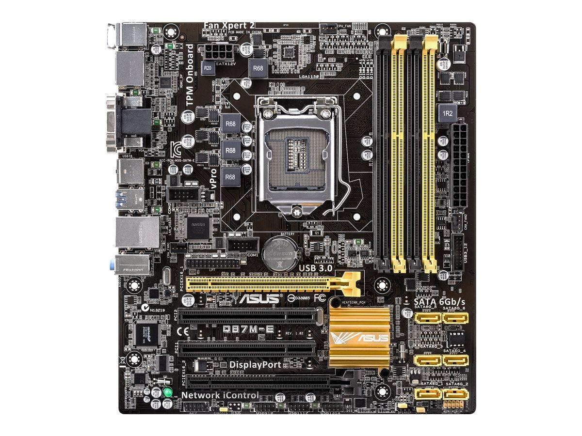 ASUS Q87M-E - Motherboard - Mikro-ATX