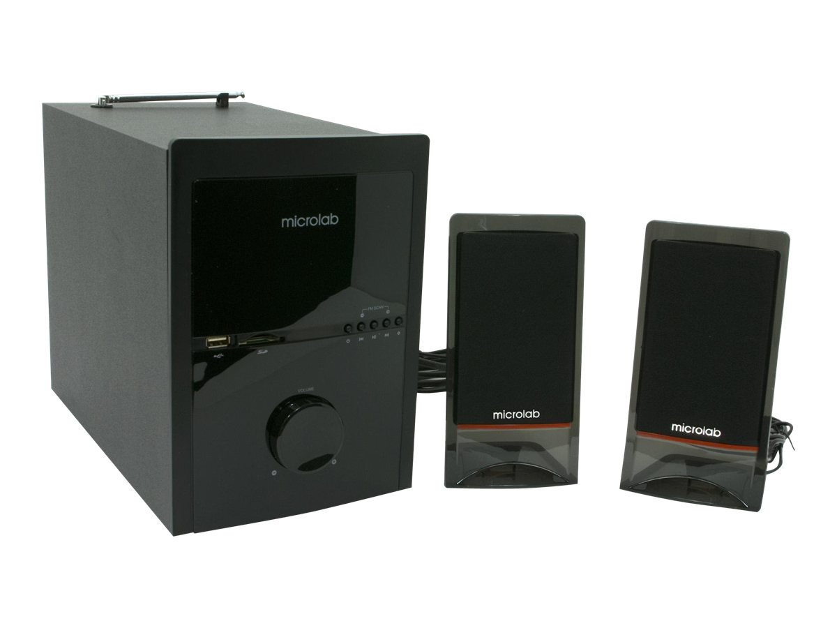 Microlab M 700U - Lautsprechersystem - für PC - 2.1-Kanal - 46 Watt (Gesamt)