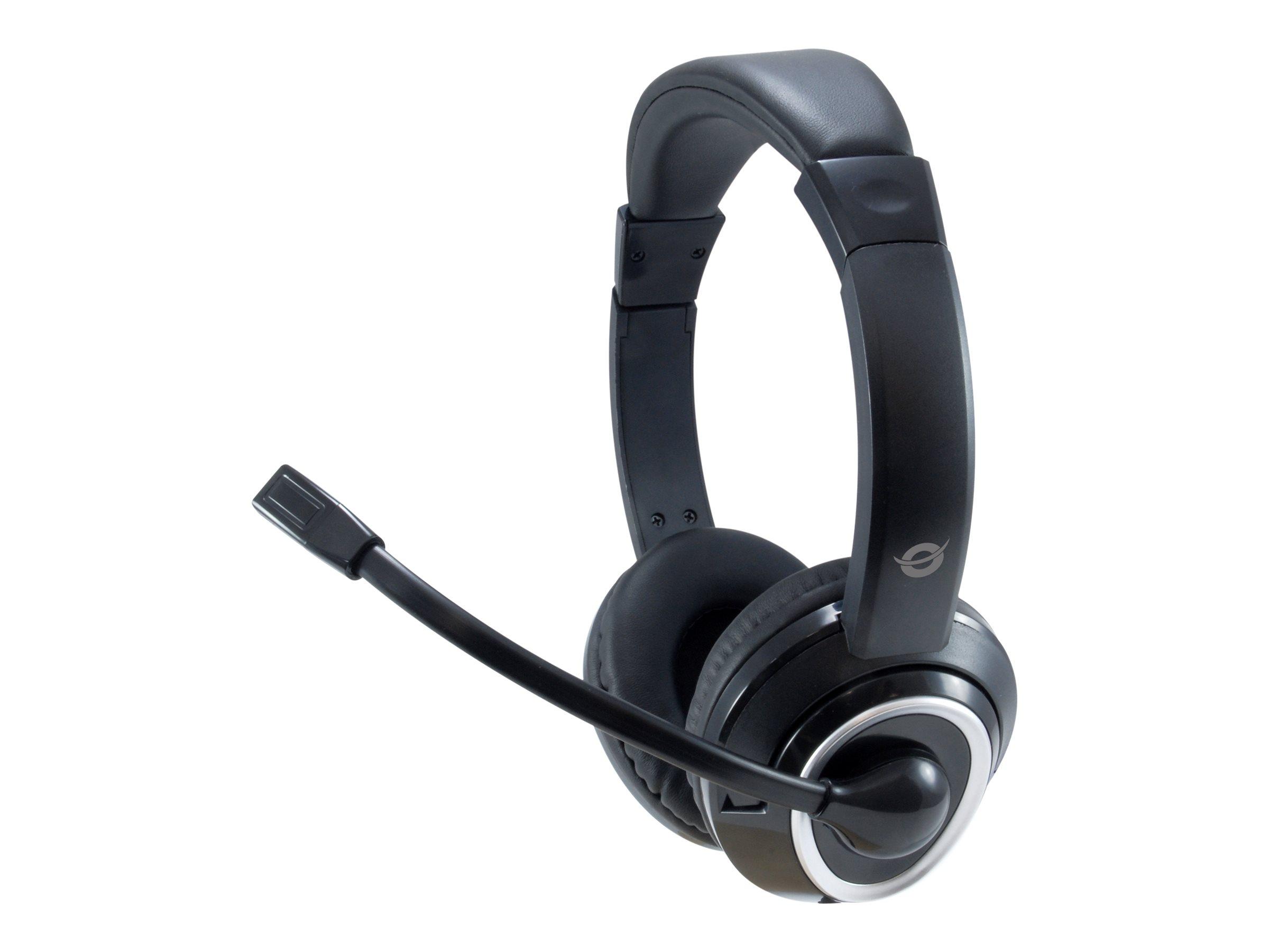 Conceptronic POLONA02BA - Headset - On-Ear - kabelgebunden