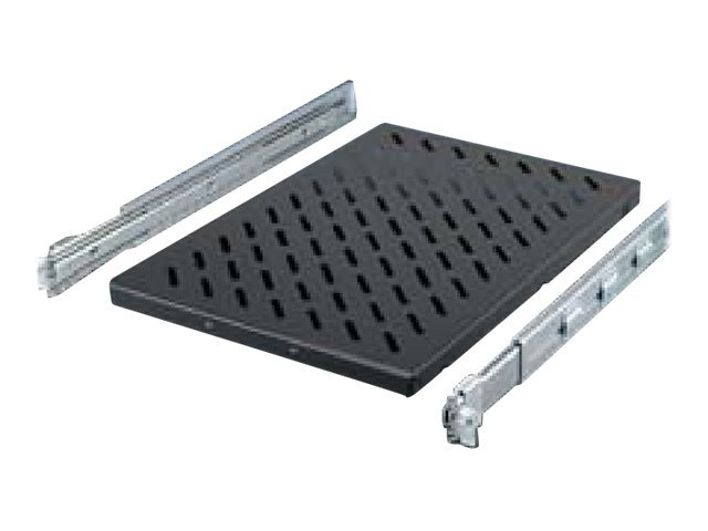 "Rittal - Rack - Regal - RAL 9005 - 1U - 48.3 cm (19"")"