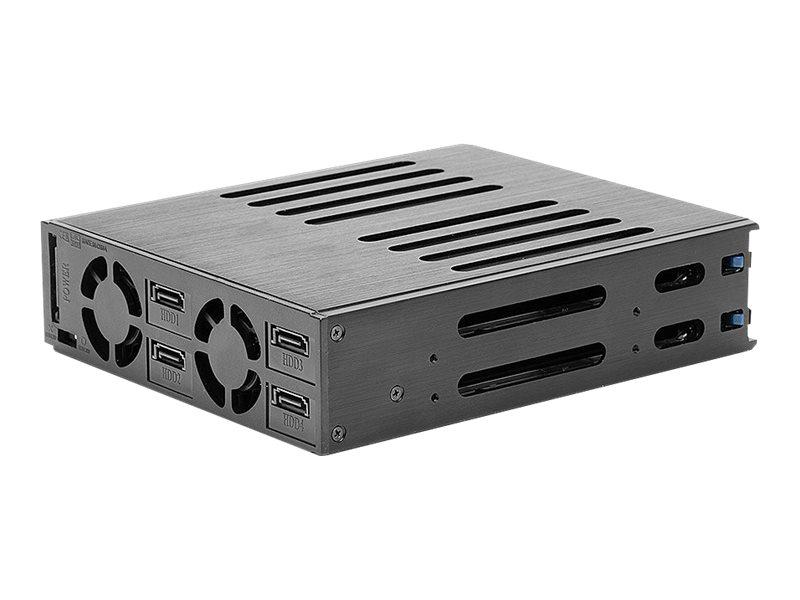 """Lindy 4x 2.5"""" SAS & SATA HDD RAID Backplane System - Gehäuse für Speicherlaufwerke - 2.5"""" (6.4 cm)"""