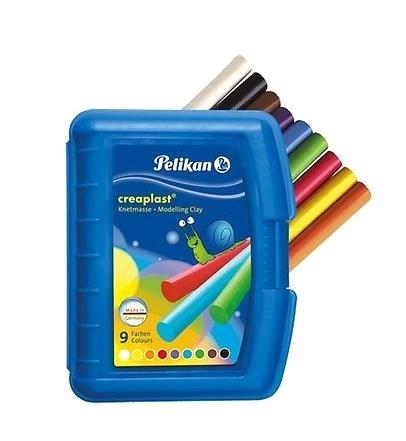 Pelikan 622415 - Knetmasse - Schwarz - Blau - Braun - Grün - Orange - Rot - Violett - Weiß - Gelb - 1 Stück(e) - 9 Farben - 3 Jahr(e) - Junge/Mädchen