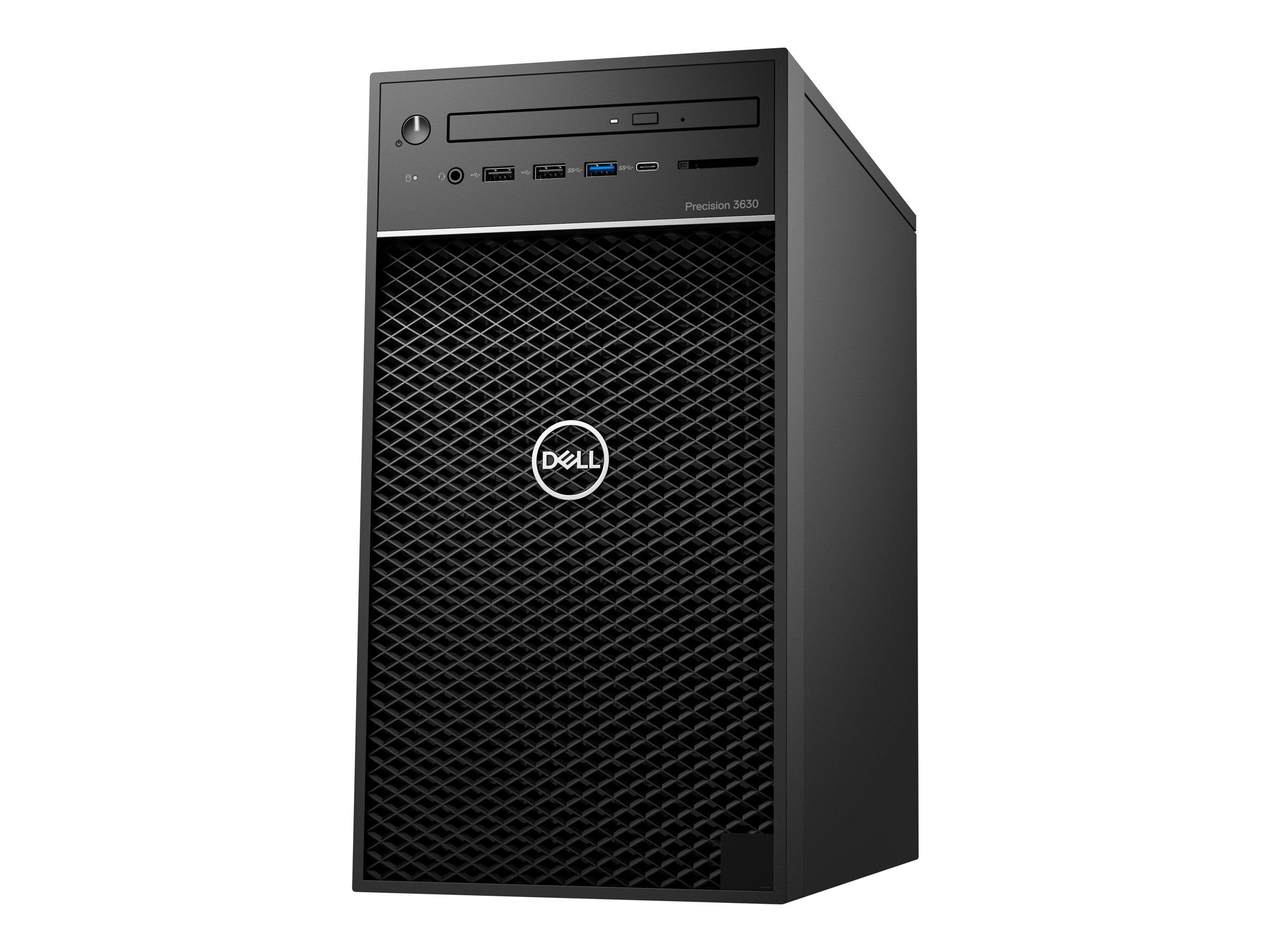 Dell Precision 3630 Tower - MT - 1 x Core i5 8500 / 3 GHz