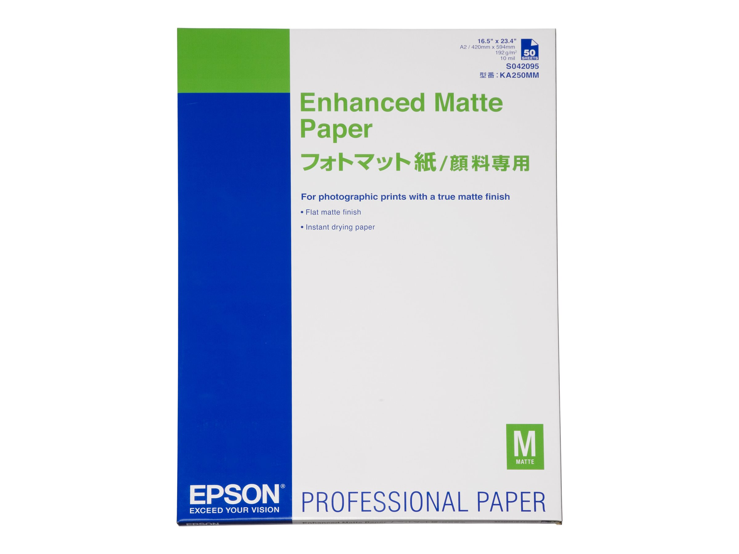 Epson Enhanced Matte - Papier, matt - A2 (420 x 594 mm)