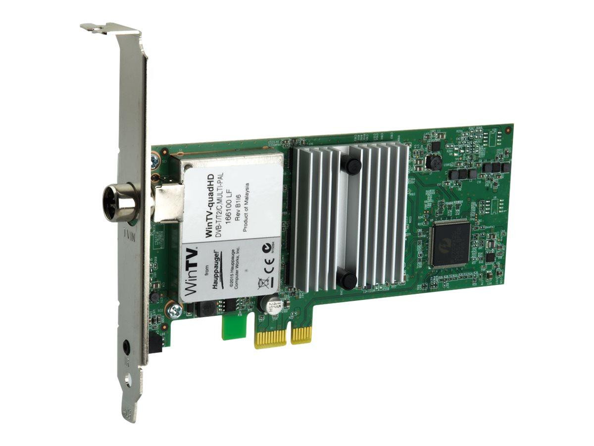 Hauppauge WinTV quadHD - Digitaler TV-Empfänger