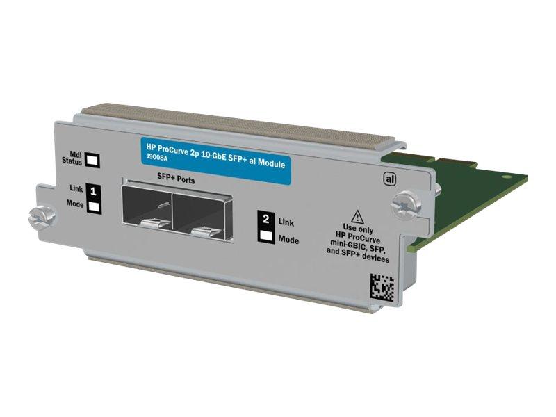 HP 2-port 10GbE SFP+ al Module (J9008A) - REFURB