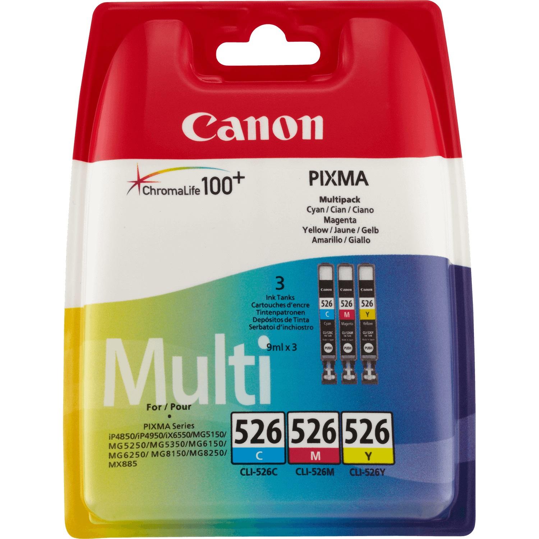 Canon CLI-526 C/M/Y Gelb Tintenpatrone