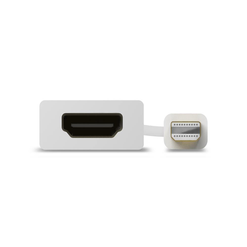 Alogic MDP-HDMI-AIC - Mini DisplayPort - HDMI - Männlich/Weiblich - 0,15 m - Weiß
