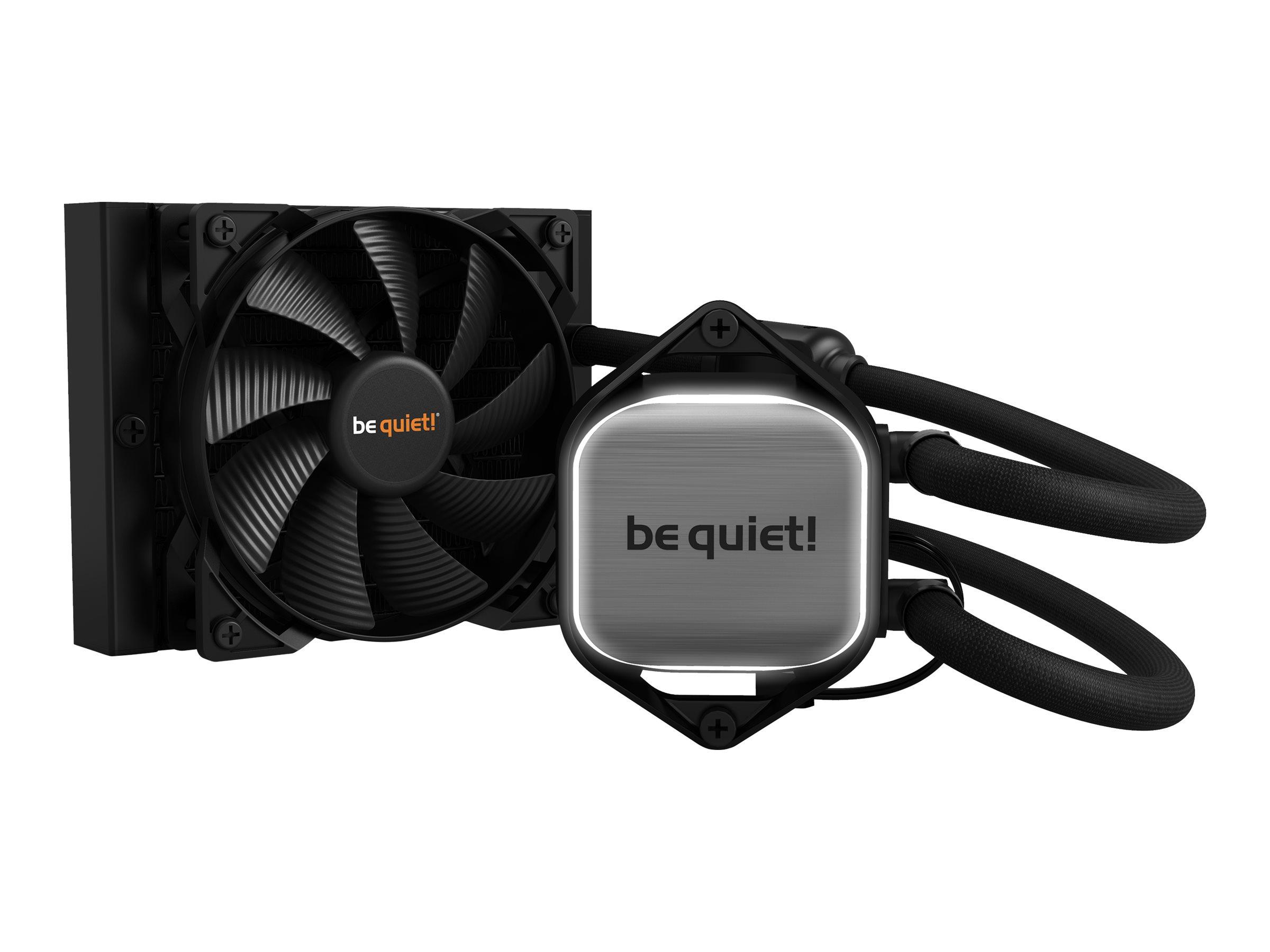 Be Quiet! Pure Loop 120mm - Prozessor-Flüssigkeitskühlsystem - (für: AM3, LGA1155, AM3+, LGA2011, LGA1150, LGA2011-3, LGA1151, LGA2011 (Square ILM)