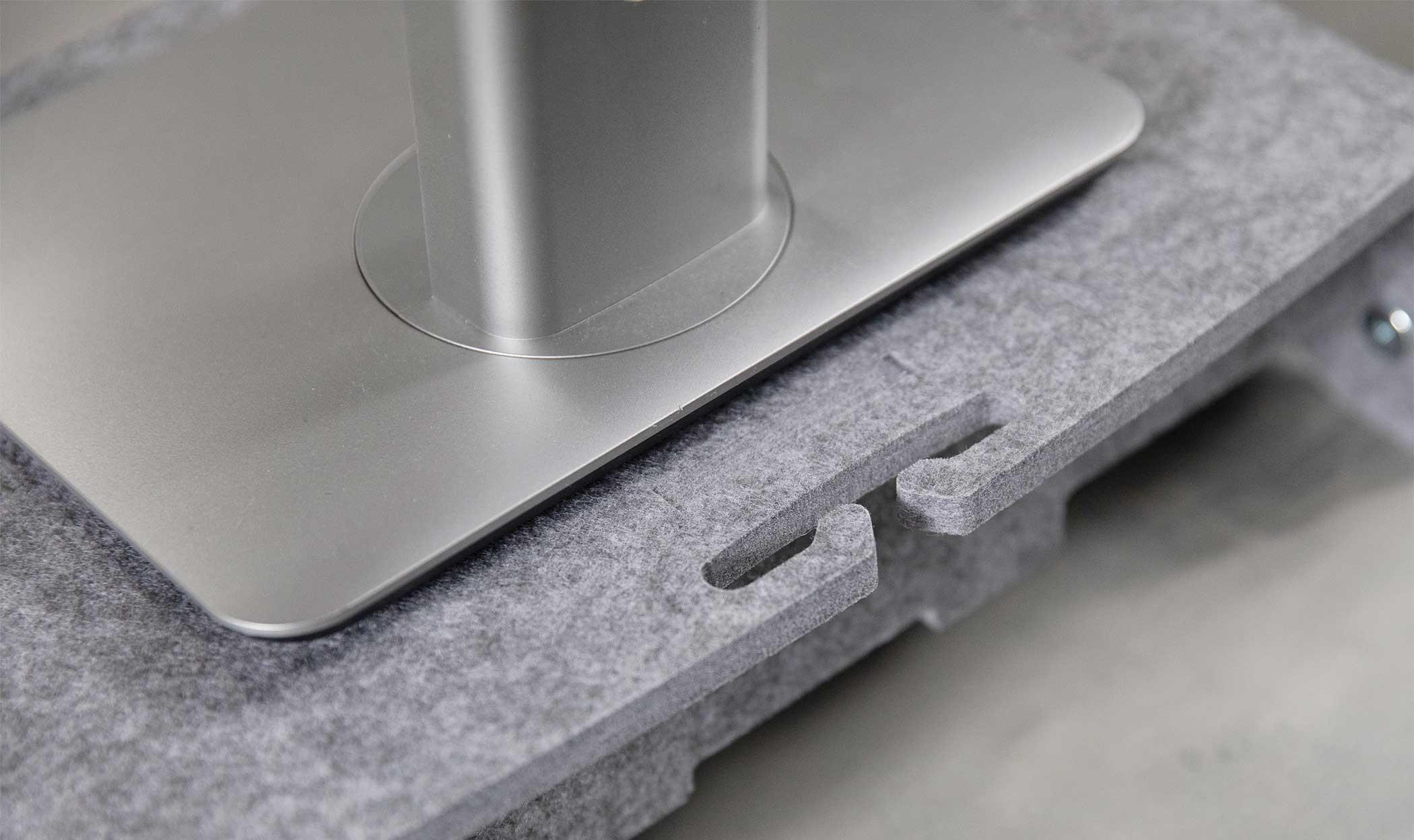Bakker Q-riser 110 Circular - 43,2 cm (17 Zoll) - Grau
