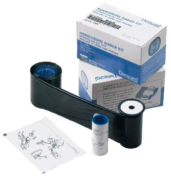 Datacard Monochrome Ribbon - 1 - dunkelblau - Farbband