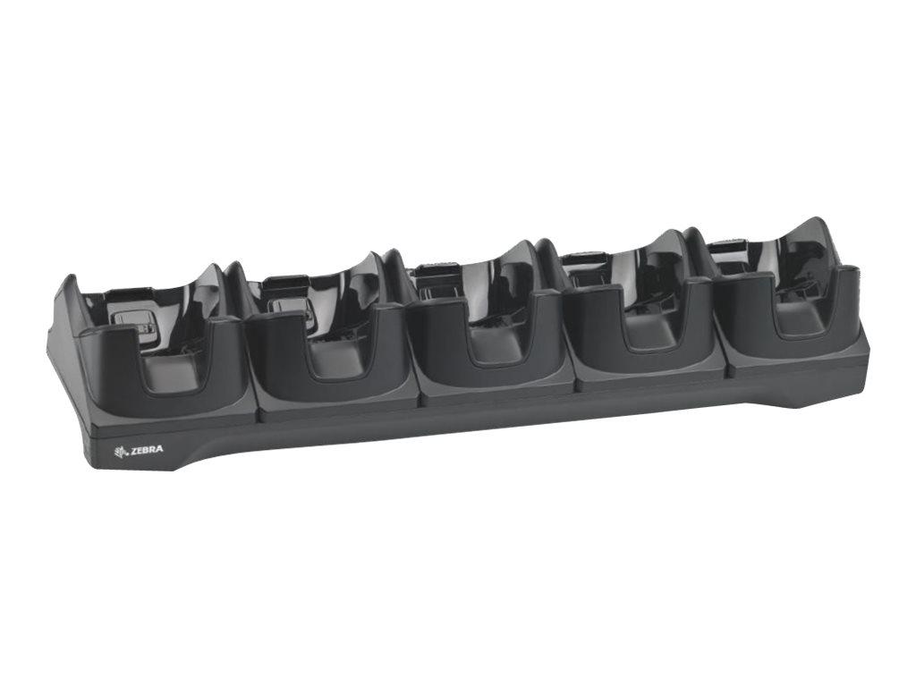 Zebra 5Slot Ethernet Cradle - Docking Cradle (Anschlußstand)