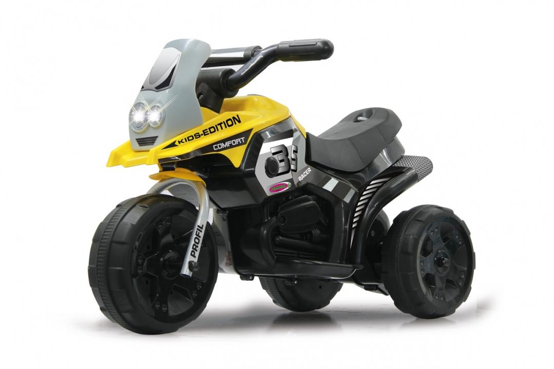 JAMARA 460226 - Drücken - Motorrad - Junge/Mädchen - 3 Jahr(e) - 3 Rad/Räder - Schwarz - Gelb