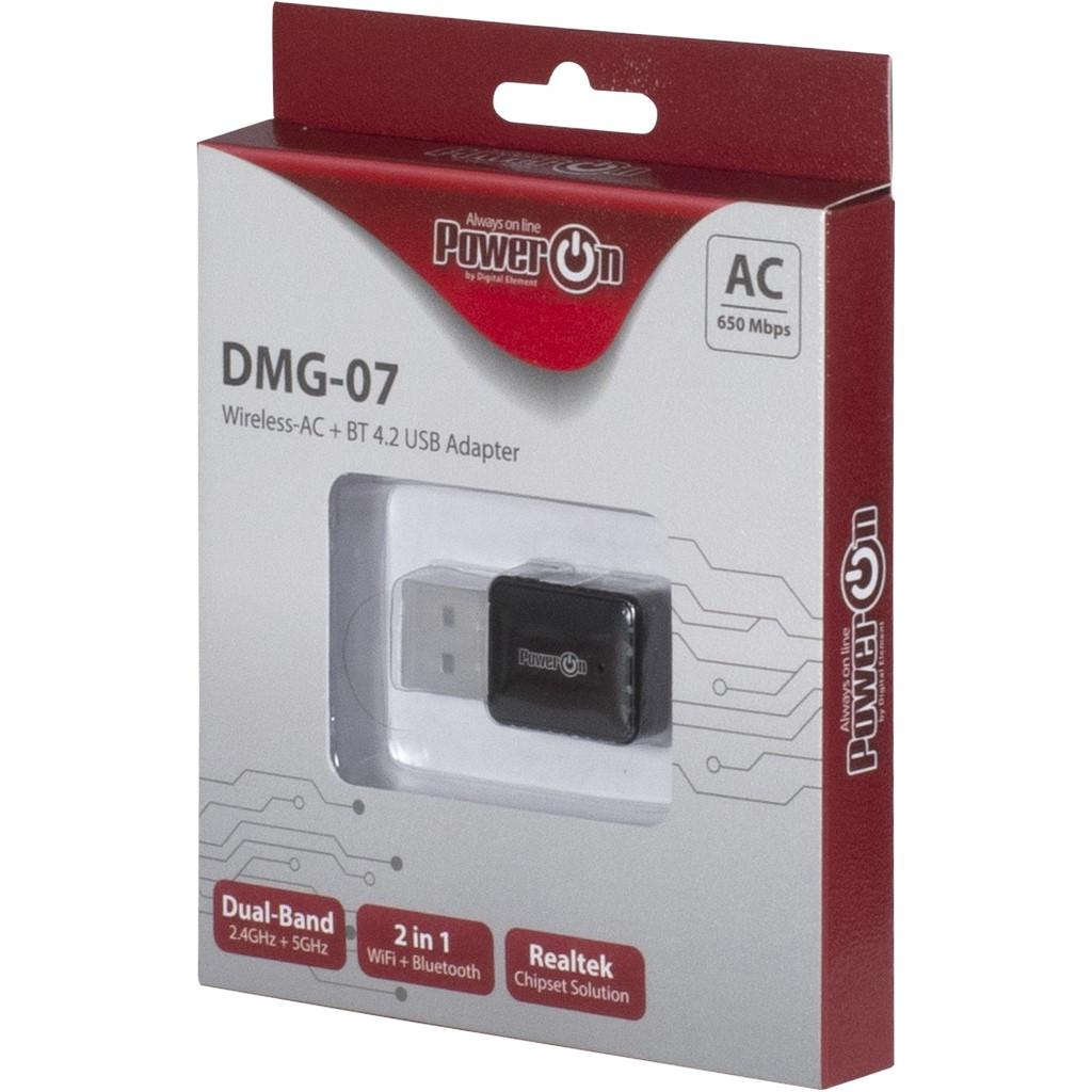 Inter-Tech DMG-07 - Netzwerkadapter - USB 2.0