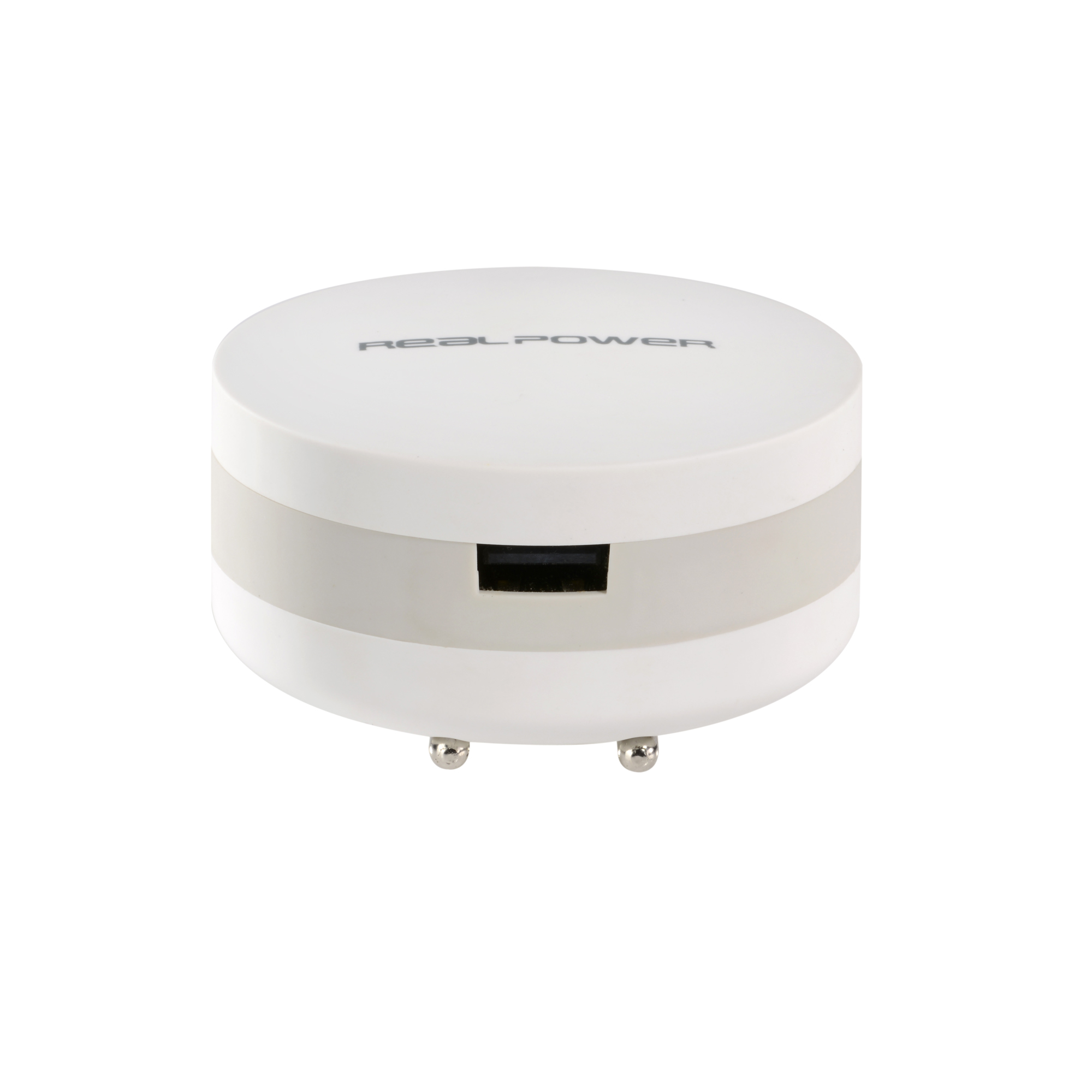 RealPower PBC-1800 - Weiß - Universal - 1800 mAh - AC - 1,8 A - 1 Stück(e)
