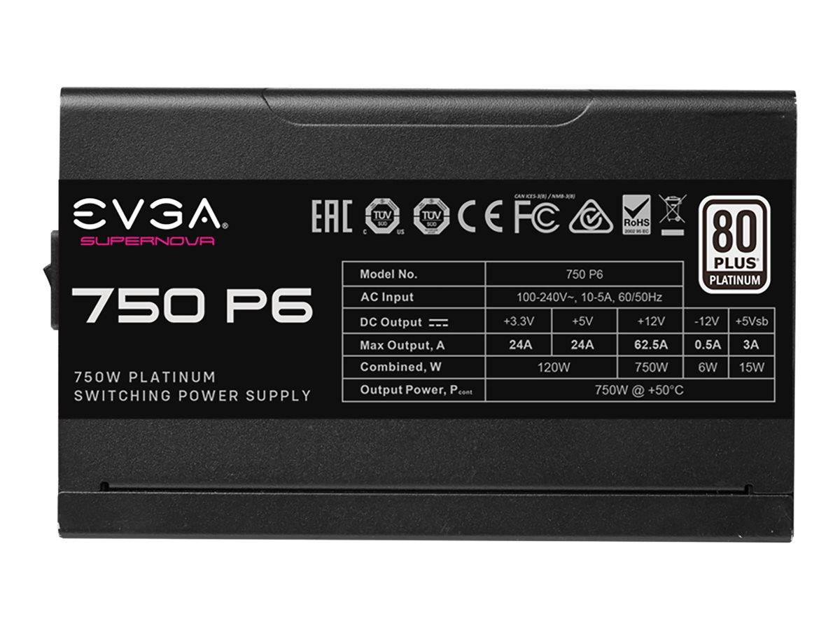 EVGA SuperNOVA 750 P6 - Netzteil (intern) - ATX / EPS