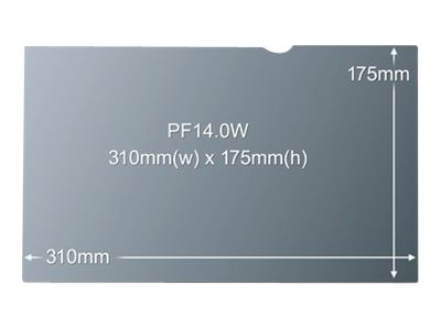 "Lenovo 3M PF14.0W - Notebook-Privacy-Filter - 35.6 cm (14"")"