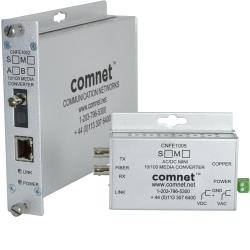 ComNet 10/100 Mbps Ethernet 1310nm - 100 Mbit/s - Schnelles Ethernet - 10,100 Mbit/s - SC - Verkabelt - 3000 m
