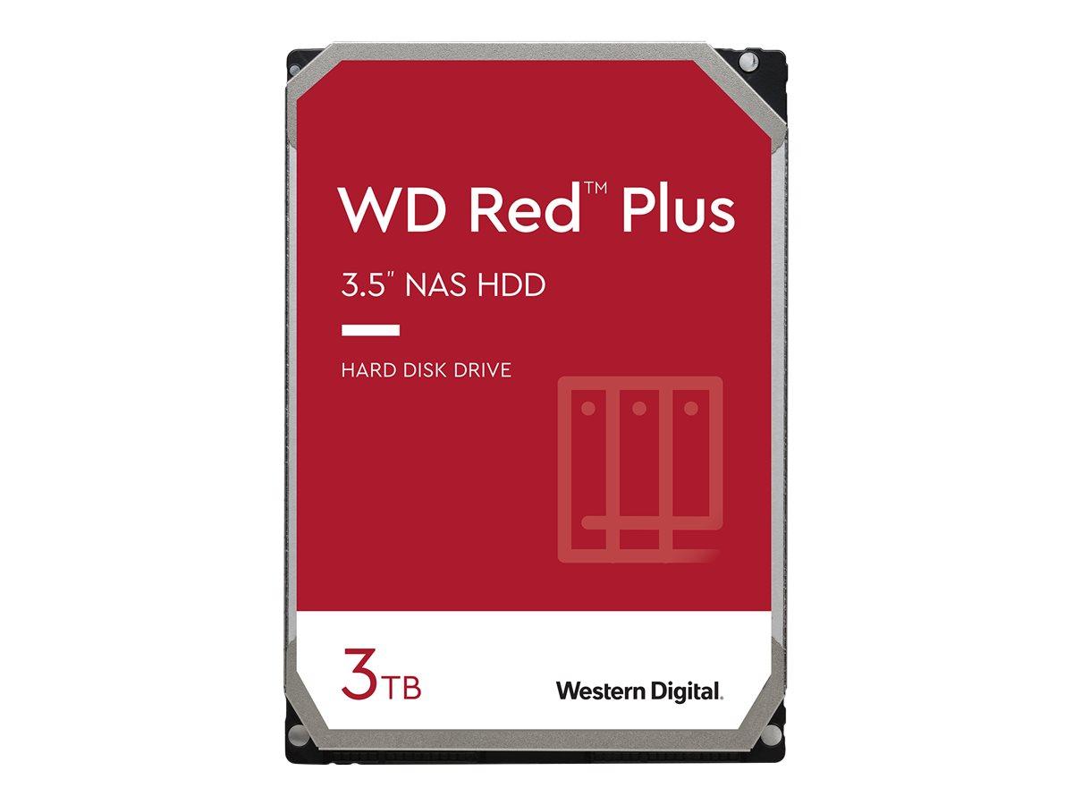 """Vorschau: WD Red Plus NAS Hard Drive WD30EFZX - Festplatte - 3 TB - intern - 3.5"""" (8.9 cm)"""