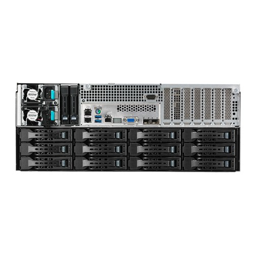 "ASUS RS540-E8-RS36-ECP - Server - Rack-Montage - 4U - zweiweg - keine CPU - RAM 0 GB - SAS - Hot-Swap 6.4 cm, 8.9 cm (2.5"", 3.5"")"