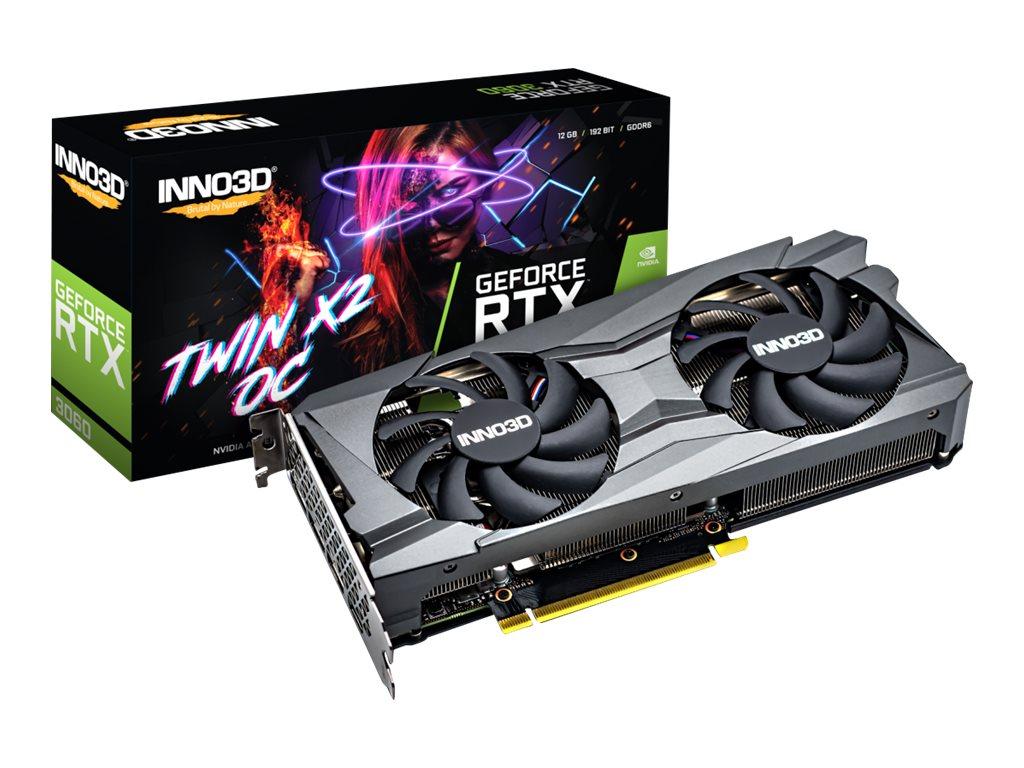 Vorschau: Inno3D GeForce RTX 3060 TWIN X2 OC - Grafikkarten