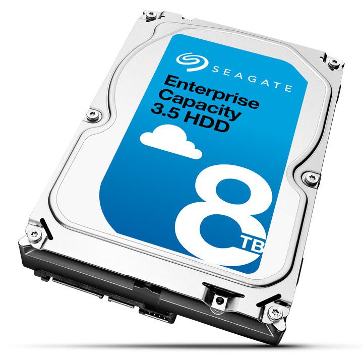 Seagate Enterprise Capacity 3.5 HDD ST8000NM0055 - Festplatte - 8 TB