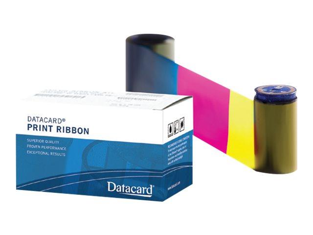 Datacard YMCKT - Farbenfroh - Farbband