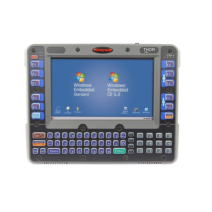 HONEYWELL Thor VM1 Handheld Mobile Computer 20,3 cm (8 Zoll) 800 x 480 Pixel Touchscreen 2,1 kg Schwarz - Grau