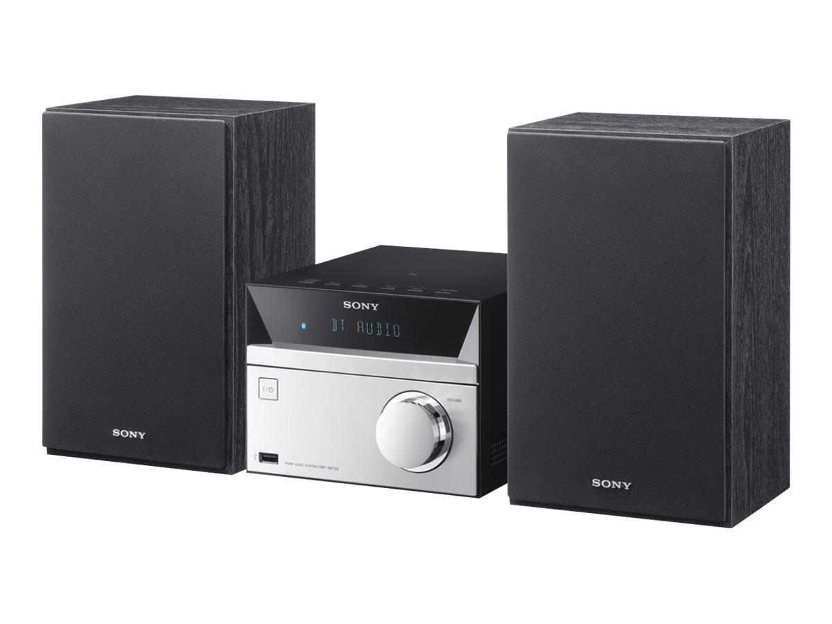 Sony CMT-SBT20 - Audiosystem - Schwarz, Silber