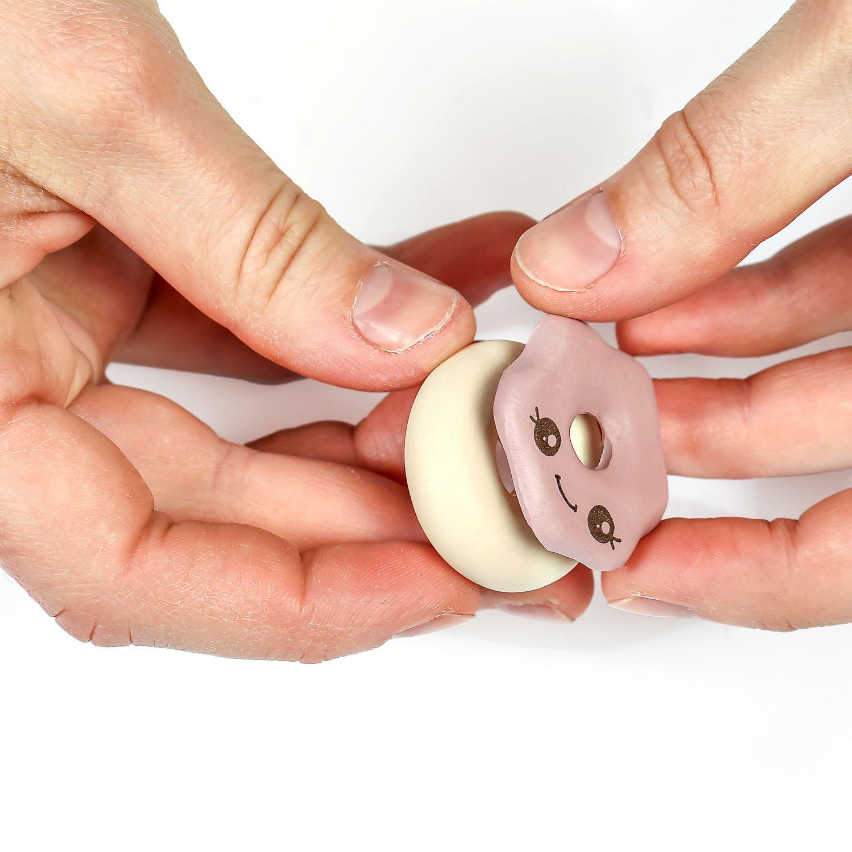 STAEDTLER FIMO Donut - Knetmasse - Mintfarbe - Rose - Vanillefarbe - Weiß - Erwachsene - 4 Stück(e) - 4 Farben - 110 °C