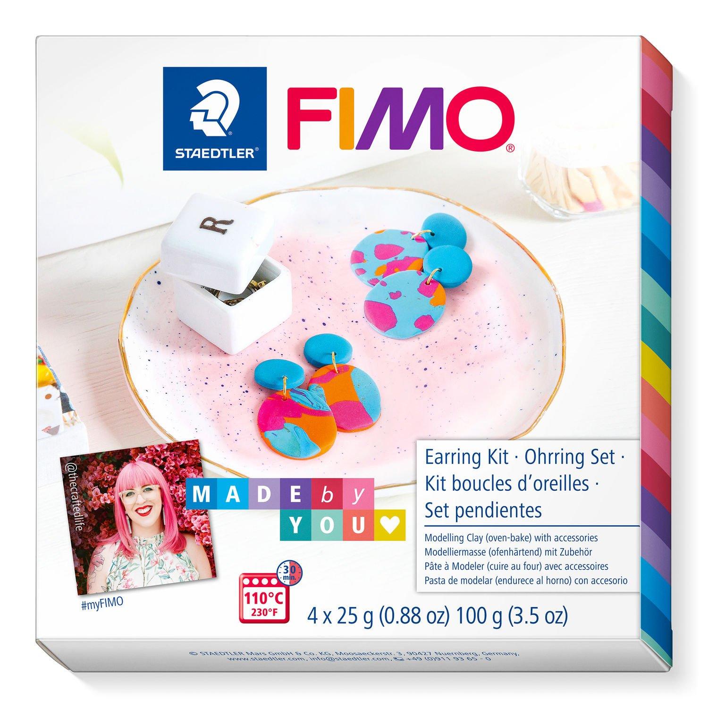 STAEDTLER FIMO 8025 DIY - Knetmasse - Beere - Blau - Orange - Erwachsene - 4 Stück(e) - 4 Farben - 110 °C