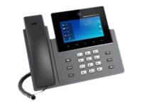 Grandstream GXV3350 - IP-Videotelefon - mit Digitalkamera, Bluetooth-Schnittstelle - IEEE 802.11a/b/g/n (Wi-Fi)