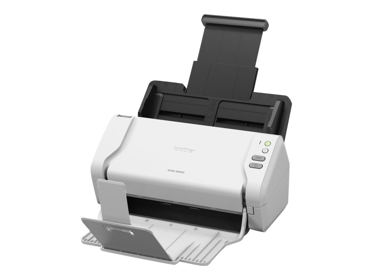 Brother ADS-2200 - Dokumentenscanner - Duplex - A4 - 600 dpi x 600 dpi - bis zu 35 Seiten/Min. (einfarbig)