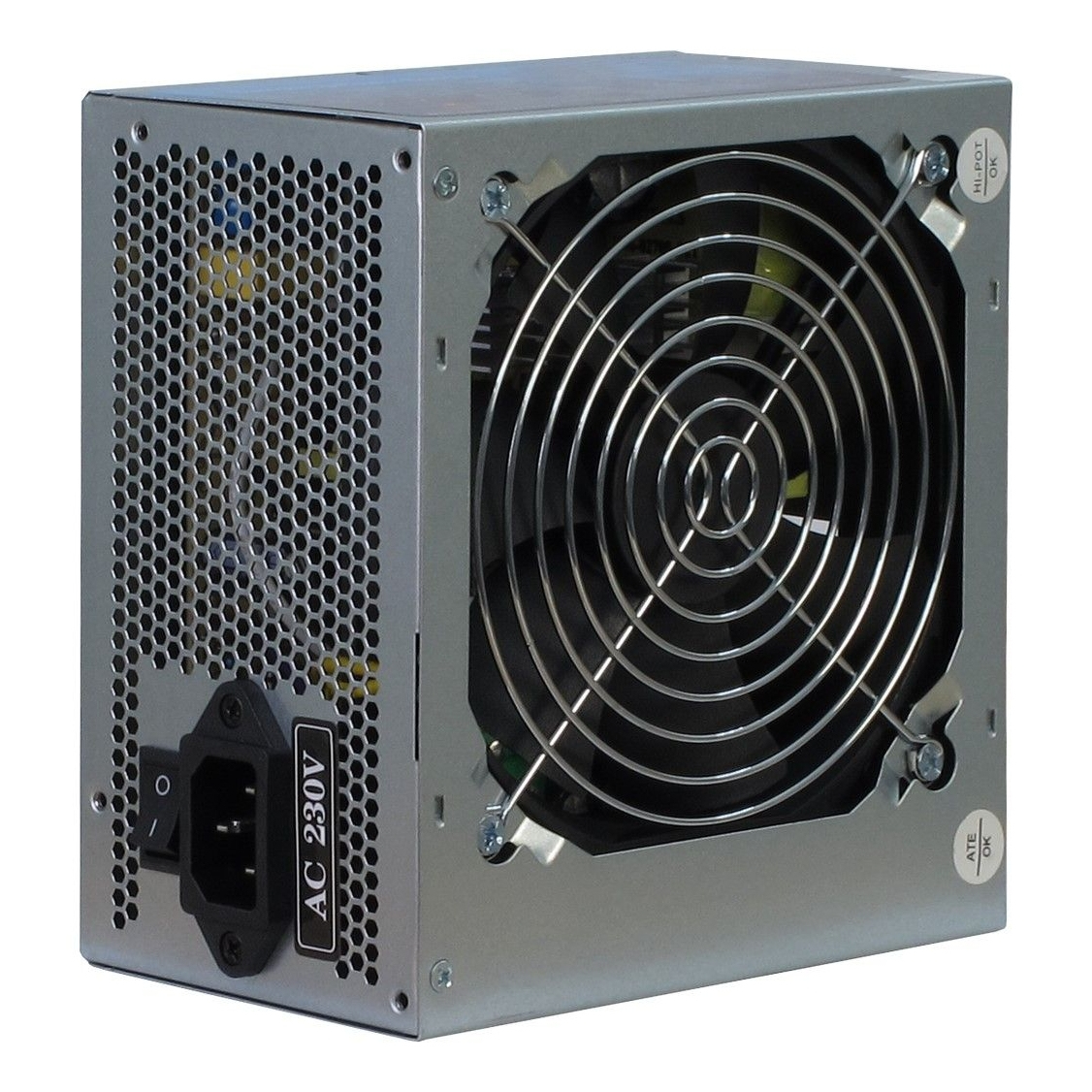 InterTech SL500A 500 W 230 V 60 Hz +12V,+3.3V,+5V,+5Vsb,12V Passive 220 W